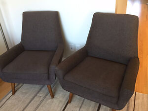 2015 HBC - KORSONMarvin Accent Chair -  MOVING SALE!! $500 OBO