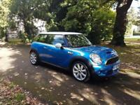 2006 56 Mini 1.6 ( 175bhp ) Cooper S TURBO 6 speed a/c,cruise,xenons,fsh,long mot £3795