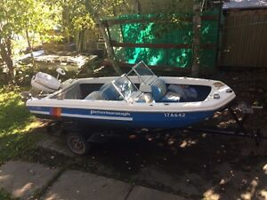 15' bow rider (need sold asap, best offer takes it)