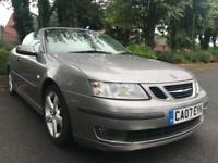 2007 Saab 9-3 1.9TiD 150bhp CONVERTIBLE LEATHER ALLOYS 6SP SUMMER CRUISE BARGAIN