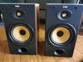 B&W bookcase speakers DM601