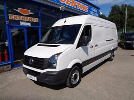2014 VOLKSWAGEN CRAFTER CR35 TDI LWB HI ROOF - ONLY 18000 MILES - FSH - 1 OWNER
