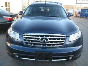 2007 Infiniti  FX35 CAR PROOF VERIFIED SAFETY AND E TEST INLD CA