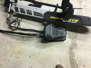 MINNKOTA FORTREX 112 TROLLING MOTOR - LIGHTLY USED