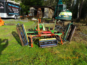 Brouwer 5 Gang reel mower