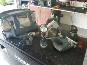BOSCH Power Tools Combo.