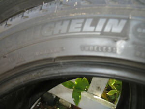 Michelin Snow tires 245/45 R18