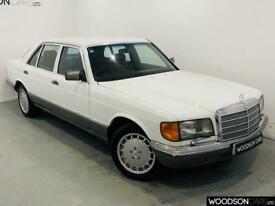 1984 A MERCEDES-BENZ W126 5.0 SEL V8 AUTOMATIC IN WHITE - CLASSIC CAR