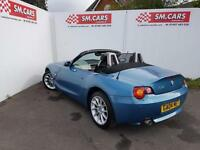 2005 55 BMW Z4 2.0i SE ROADSTER CONVERTIBLE.STUNNING COLOUR.2 KEYS.12 MONTHS MOT