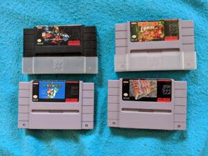 Jeux Super Nintendo games