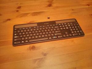 Logitech Wireless Solar Powered Keyboard K750