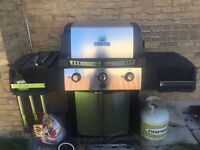 Moving sale, Broil King BBQ, propane tank & cover