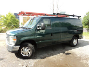 2010 FORD E-350  SUPER DUTY CARGO VAN CERTIFIED / E-TESTED
