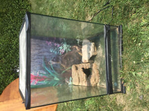 SOLD.terrarium  with doors in-front. Perfect for Bearded dragon.