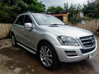2011 MERCEDES-BENZ ML300 3.0TD 4X4 BlueEFFICIENCY AUTO GRAND EDITION IN SILVER