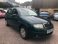 Skoda Fabia 1.4 16v Ambiente 5dr£1,495 cambelt changed at 69000