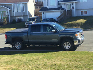 2014 GMC Sierra 1500 SLE  Crew 4WDwith Extended GM Warranty
