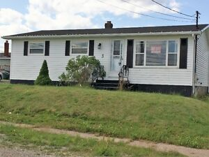 3 bedroom bungalow with many recent renovations in Glace Bay
