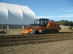 PrimeTech self-propelled, tracked mulchers from 160 to 600 HP Edmonton Edmonton Area image 10