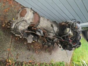 1988 Toyota Land Cruiser motor and automatic transmission