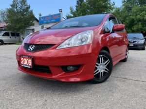 2009 Honda Fit 5dr HB Manual Sport * ONE OWNER & ACCIDENT FREE*