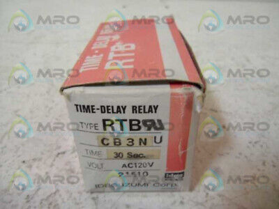 Idec Rtb-cb3nu Time Delay Relay 0-30 Seconds New In Box