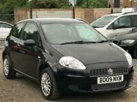 * 2009 FIAT GRANDE PUNTO 1.4L 3 DOOR + LOW 70K MILES + IDEAL FIRST CAR + 2 OWNER