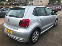 2013 (13 reg) Volkswagen Polo 1.2 TDI BlueMotion Tech 5dr Hatchback Turbo Diesel