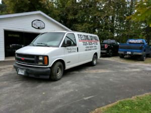 01 chevy express