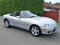 MAZDA MX5 1600 2 SEATER CONVERTIBLE (ONLY 64,000 MILES FROM NEW)