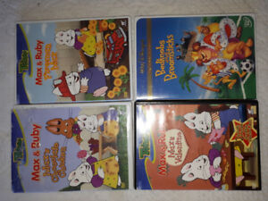Max and Ruby, Bedknobs and Broomsticks DVD'S