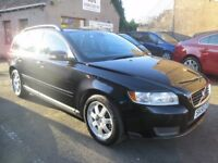 Volvo V50 1.8i S Sportswagon,56171 MILES,MOT 20/11/2018, SERVICED, WARRANTIED & AA (black) 2008