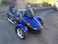 Can am Spyder 998 RS. (REDUCED)