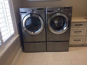 LG Washer -  Dryer - Pedestals