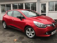 Renault Clio Dynamique MediaNav dCi 90 S&S (red) 2014