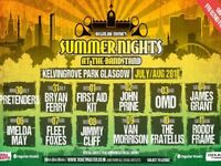 3 tickets The Fratellis Glasgow kelvingrove bandstand tonight 10th August face value £33 each