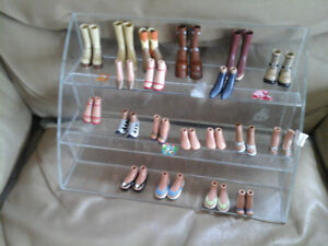 bratz shoes all for $10.00  the stand is not included
