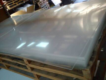 6MM CLEAR ACRYLIC PERSPEX SHEET 2440 X 1220 (8X4) Carrum Downs Frankston Area Preview