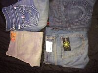 True religion and stone island jeans