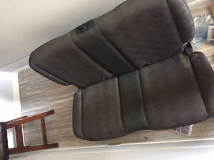Jeep Wrangler back seat