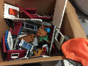 Huge box of imaginext Toys