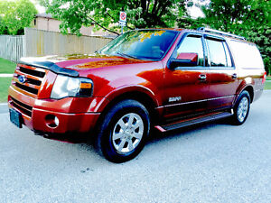 2008 FORD EXPEDITION LIMITED 4X4, 3RD ROW SEATS,NAVI,DVD,LOADED!