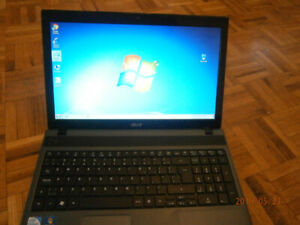 "ACER ASPIRE 5733Z LAPTOP-WEBCAM-4 GB RAM-250 HDD-15.6"" WIN 7"