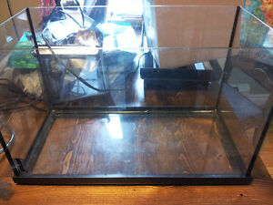 10 Gallon tank and accessories