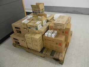 Toner cartridges new old stock sold as a lot.(Sharp,Ricoh,Minolt