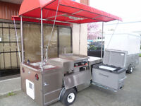 Food Trucks, Trailers, Carts & Containers