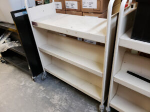 """Book / Library Cart - 37 x 18 x 42"""" 6 available"""