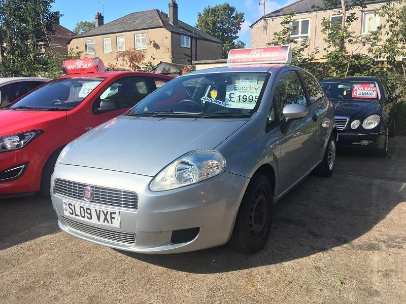 Fiat Grande Punto 1 4 8v Dualogic 2008MY Active | in Southside, Glasgow |  Gumtree