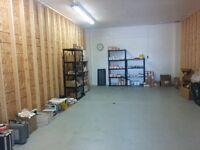 Heated Indoor Warehouse Space