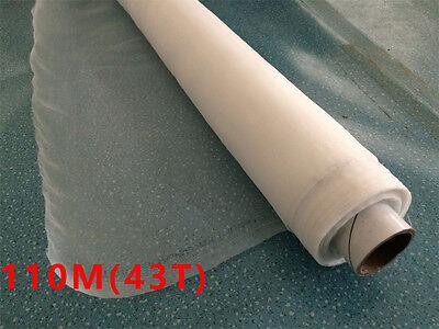 1 Yard - Silk Screen Printing Mesh Faric 110 M 43t Free Shipping Width 1.3 Yard